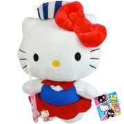 Hello Kitty Marinheira Boneca de Pelúcia Sanrio Dtc Mais Escova