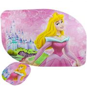 Jogo Americano 6 Unidades Princesa Aurora Bela Adormecida Disney