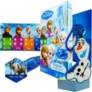 Jogo Cartas Frozen Corrida Congelante Copag + Chaveiro Olaf