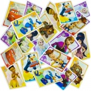 Jogo Da Memória Com 20 Cartas Crystal Fantasy Disney Pixar