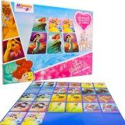 Jogo da Memória Disney Princesa Brinquedo Educativo 26 Cartas