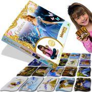 Jogo da Memória Grandão Cinderela Princesas Disney - Toyster