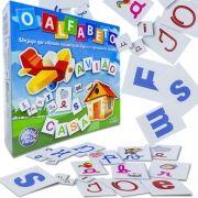 Jogo de Associação O Alfabeto - Pais e Filhos