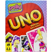 Jogo de Cartas Uno Polly Pocket  Competição Estímulo Estratégia Mattel