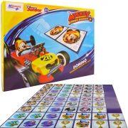 Jogo Dominó Mickey Mouse Brinquedo Educativo 28 Peças