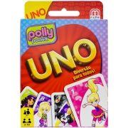 Jogo Uno Polly Pocket com 108 Cartas - Mattel