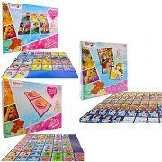 Kit 3 Jogos Memória Dominó E Mini Baralho Princesas Disney