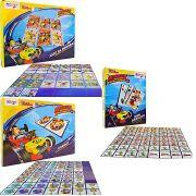 Kit 3 Jogos Memória Dominó Mini Baralho Mickey Disney Junior