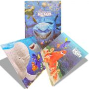 Kit 3 Quebra Cabeças Procurando Nemo e Dory Coleção Especial