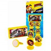 Kit 4 Carimbos Infantis Mickey E 1 Acessório Disney