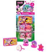 Kit 4 Carimbos Infantis Minnie e 1 Acessório Disney Junior
