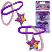Kit 4 Maria Chiquinhas De Cabelo Aurora Princesas Disney