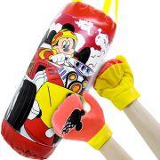 Saco de Boxe Infantil com Luvas Mickey Disney Junior