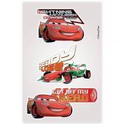 Kit Carros 10 Cartelas Adesivo Parede Carros Disney