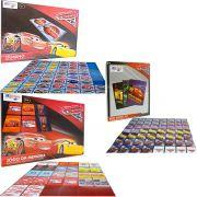 Kit Com 3 Jogos Memória Dominó E Mini Baralho Carros Disney