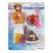 Kit Cozinha Infantil com Comidinhas Frozen Princesas Disney