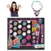 Kit Crie Miçangas Arrepiantes Monster High - Fun