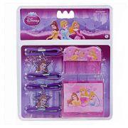 Kit de Beleza com Espelho Pente e Maria Chiquinhas Princesas Disney