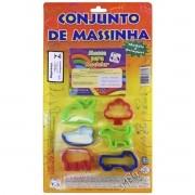 Kit Massinha de Modelar com 6 Moldes - Pica Pau