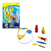 Kit Médico Mickey Infantil Estetoscópio e Acessórios Etitoys