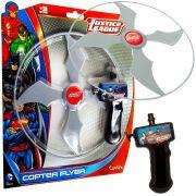 Lançador de Disco Copter Flyer Dc Comics Liga Da Justiça Candide