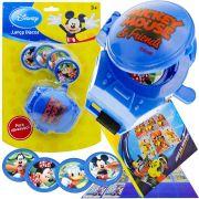Lançador De Discos Mickey Mais Jogo Memória Cartonado Disney