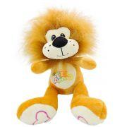 Leão de Pelúcia Selvagem Safári Leãozinho Rei das Savanas