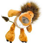 Leão de Pelúcia Selvagem Safári Leãozinho Rei das Savanas Fofy