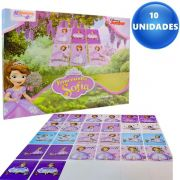 Lembrancinha 10 Jogos da Memória Princesinha Sofia Disney Junior