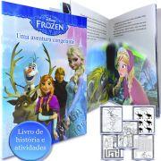 Livrinho de História e Atividades Frozen Disney - DCL