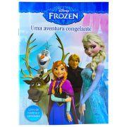 Livro de História e Atividades Frozen Disney - DCL