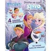 Livro das Máscaras Frozen Disney - DCL