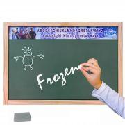 Lousa Verde Infantil Frozen Disney Educativa