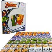 Mini Baralho Jogo de Cartas  Vingadores 56 Cartas Marvel