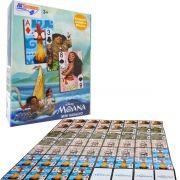 Mini Baralho Jogo de Cartas Moana 56 Cartas Disney