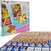 Mini Baralho Jogo de Cartas Princesas Disney Brinquedo Educativo