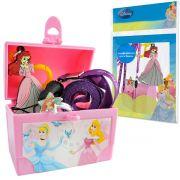 Mini Baú Ariel com Anel Chaveiro e Cordão para Crachá