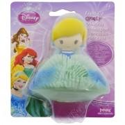Mini Boneca de Borracha com Luz Cinderela Princesas Disney - Toyng