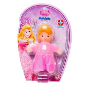 Mini Boneca Fofolete Aurora Princesas Disney - Estrela