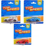 Mini Carrinhos De Plástico Top Speed Ark Toys