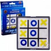 Mini Jogo da Velha Magnético - Western Games