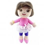Mini Pelúcia Dora Aventureira Bailarina Rosa Nickelodeon - Taimes