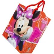 12 Sacolas Minnie Mouse Lembrancinha Aniversário 14 X 11,5cm