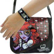 Monster High Relógio de Pulso Digital  mais Bolsinha Operetta