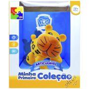 Onça Pintada Articulada Brinquedo para Bebê Coleção Animais - CKS