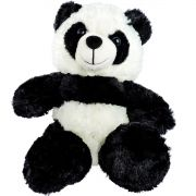 Panda Urso de Pelúcia Importada Fizzy Sentado 26 cm