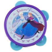 Pandeiro Infantil de Plástico Frozen Disney