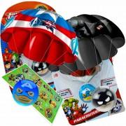 Paraquedas Parachuters Batman E Capitão América Candide