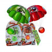 Paraquedas Parachuters Hulk e Homem de Ferro Vingadores Marvel – Candide