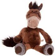 Pelúcia Cavalo Marrom Grande - Manuque